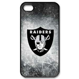 4s Covers Oakland Raiders logo hard case Cell Phones & Accessories