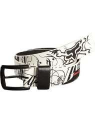 Fox Racing Victory Belt   Medium/White