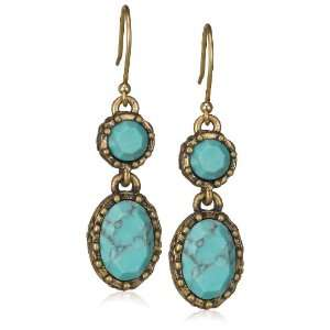Lucky Brand Double Drop Earrings Jewelry