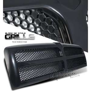94 01 Dodge Ram Sport Grille   Black Painted OEM Style