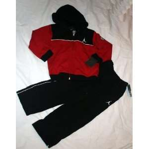 Nike Jordan Jumpman Toddler Boys Sweatsuit   Size 4T Black/Red