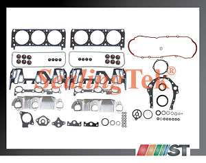 95 99 GM 3100 3.1L 189 V6 M #2 Engine Full Gasket Set