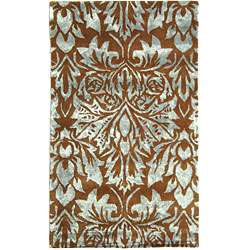 Jewel Brown/ Blue Rug (19 x 210)
