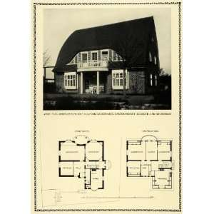 Print Garden View Floor Plan Architecture Schmarje Paul Mebes Building