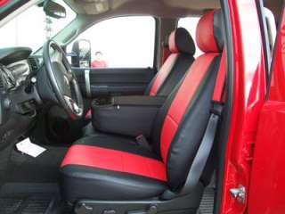 CHEVY SILVERADO 2007 2012 LEATHER LIKE CUSTOM SEATCOVER