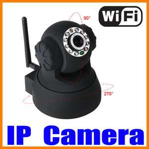Wans New WIFI Wireless IP Security Camera Built in Mic Pan/Tilt