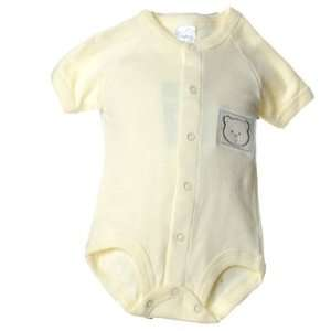 Newborn Infant Baby Girls Clothes YELLOW BEAR Bodysuit