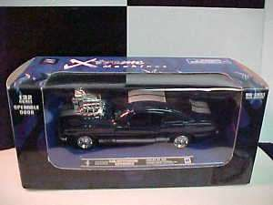BLUE 1966 FORD MUSTANG SHELBY GT 350 NEW RAY 1/32 CAR