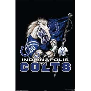 NFL INDIANAPOLIS COLTS NEW LOGO POSTER