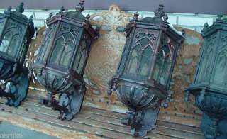 10 GOTHIC STYLE CAST IRON SCONCE S FOR YOUR ESTATE