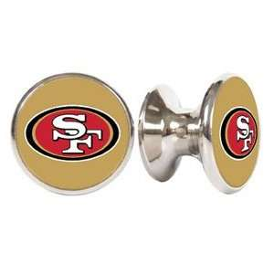 San Francisco 49ers NFL Stainless Steel Cabinet Knobs / Drawer Pulls