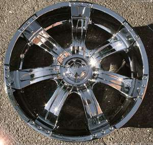 POLTERGEIST 501 20 CHROME RIMS WHEELS GMC ACADIA TRAVERSE
