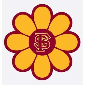FLORIDA STATE SEMINOLES FLOWER vinyl decal sticker FSU