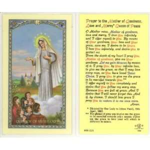 Prayer to Our Lady of Medjugorje Holy Card (800 315)   10