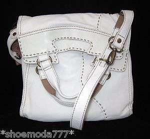 Lucky Brand Leather Abbey Road Bag Purse Messenger New