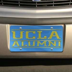 UCLA Bruins Light Blue Mirrored Alumni License Plate