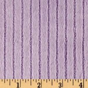 60 Wide Minky Cuddle Ribbon Lavender Fabric By The Yard
