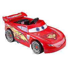 Power Wheels Fisher Price Ride On   Disney Pixar Cars 2   Lightning