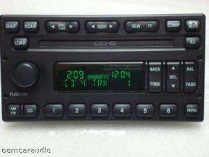 FORD F150 6 CD CHANGER RADIO EXPLORER F250 EXPEDITION