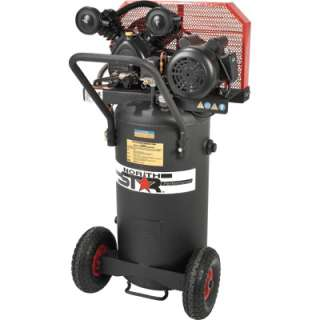 North Star Belt Drive Single Stage Air Compressor 2HP 20 Gal Vertical
