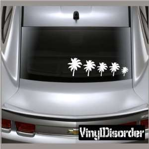 Family Decal Set Palm Trees 02 Stick People Car or Wall Vinyl Decal
