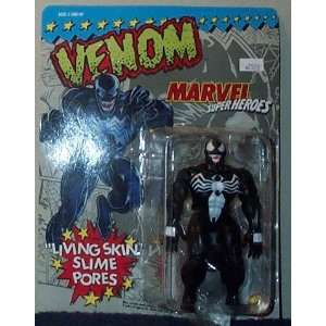 Marvel Super Heroes Venom with Living Skin Slime Pores