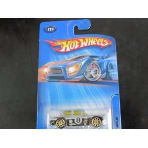 Ford Anglia gold 10 spoke wheels Mattel Hot Wheels