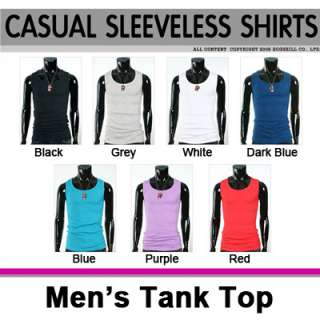 Men Slim Fit Sexy Stylish Tank Tops Camisole