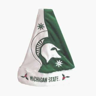 Michigan State Spartans Santa Claus Christmas Hat   NCAA College