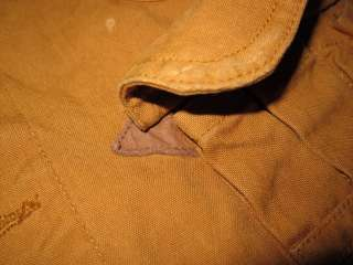 Polo Ralph Lauren Canvas Leather L Hunting Vest Shooting Jacket Coat