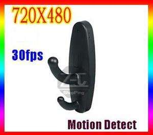 Good  Motion Detection Spy Clothes Hook Camera Video Recorder Hidden