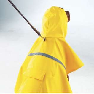 DOG RAIN COAT JACKET PET WATERPROOF REFLECTIVE RAINCOAT 4 COLORS 6