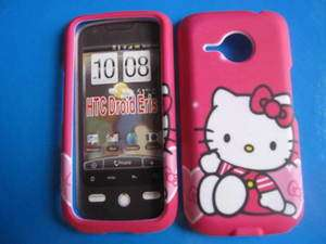 HTC DROID ERIS HELLO KITTY PINK STYLE CASE COVER