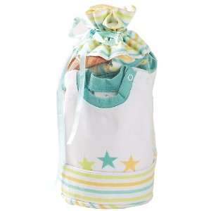 Elegant Baby Star Gift Bag 100% Cotton Fashion Set Baby