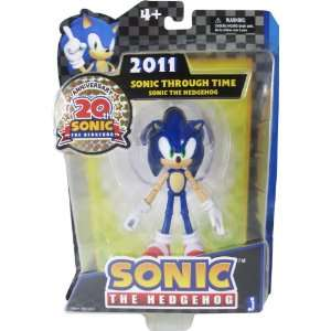 Sonic 20th Anniversary 5 Inch Through Time Action Figure 2011 Sonic