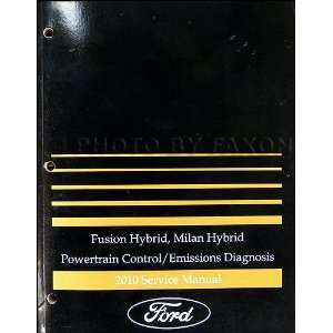 2010 Ford Fusion/ Mercury Milan Hybrid Engine and