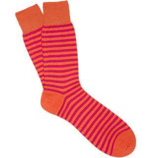 Socks  Casual socks  Striped Merino Wool Blend Socks