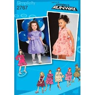 Simplicity Sewing Pattern 2767 Toddler / Child Dresses, AA (1/2 1 2 3)