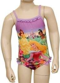 GIRL CLOTHES DISNEY PRINCESS BATHING SUIT   SIZE 2T, 3T, 4T  INFANT