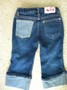 LUCKY Brand Girls Jeans Aplique 4T
