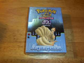 POKEMON TRADING CARD GAME ABYSS THEME DECK AQUAPOLIS