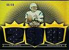 TOM BRADY 2007 TRIPLE THREADS GOLD 2 COLOR 3 JERSEY RELIC SP 09/09