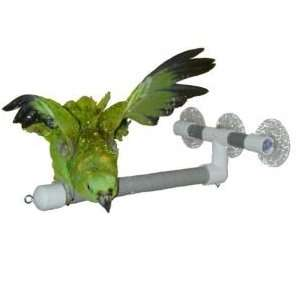 Pollys Pet Products Deluxe Window or Shower Bird Perch