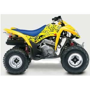 Suzuki LT Z250 Passion ATV Graphic Kit (Yellow) (2004 2012