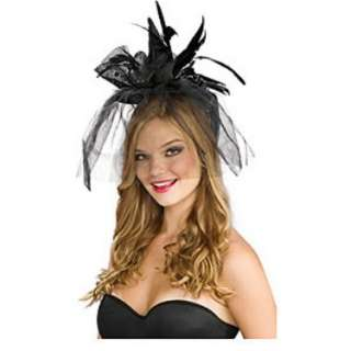 Black Mini Witch Hat Adult   Costumes, 69364