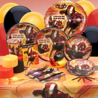 16178 Results In Halloween Costumes Iron Man Deluxe Party Kit