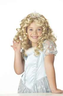 Sparkle Princess Costume Wig   Blonde for Halloween   Pure Costumes