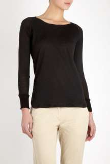 Missoni  Black Fine Gauge Burn Out Sweater by M Missoni