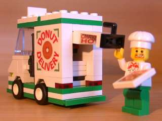 DELIVERY SET for town/city/train/police LEGO doughnut food truck
