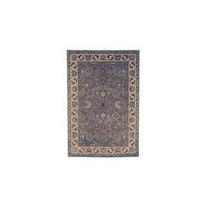 CL359B Area Rug   36 Round   Light Blue, Ivory